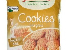 Foto do produto Cookies Integrais Aveia e Mel 150g - Jasmine