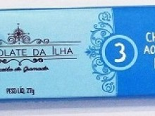Foto do produto Chocolate ao Leite com Flocos 27g - Chocolate da Ilha