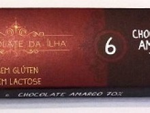 Foto do produto Chocolate Amargo 70% 27g - Chocolate da Ilha