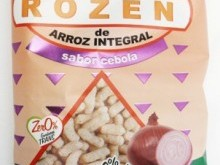 Foto do produto Salgadinho de Arroz integral - Sabor cebola - 50 g - Okosshi
