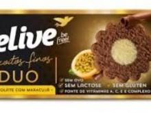 Foto do produto Biscoitos sabor chocolate com maracujá  110g - Belive
