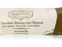 Foto do produto Chocolate branco com banana 25g - Tri-Gostoso