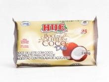 Foto do produto Doce de Leite com coco Diet 240g - Hué