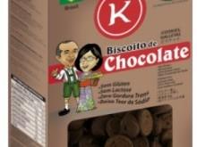 Foto do produto Biscoito de chocolate meio amargo 200 g - Kerber