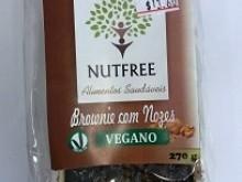 Foto do produto Brownie Vegano com Nozes 270g - Nutfree