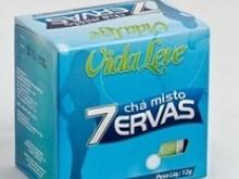 Foto do produto Chá 7 ervas 10 envelopes - Vida Leve