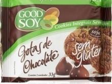 Foto do produto Cookie Gotas de chocolate 33 g - Good Soy