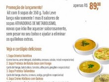 Foto do produto Kit Sopas Gourmet