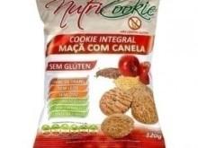 Foto do produto Cookie Integral Maçã e Canela 120 g - Nutri Cookie