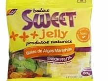 Foto do produto Balas de algas marinhas sabor frutas 60g - Sweet Jelly