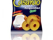 Foto do produto Rosquinhas sabor Coco 120g - Casarão