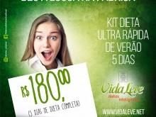 Foto do produto DIETA ULTRA RÁPIDA FÉRIAS - 5 dias