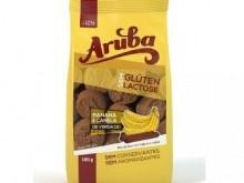Foto do produto Biscoito doce com banana e canela - 100 g - Arruba