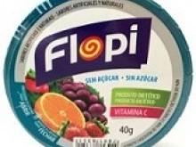 Foto do produto Bala Flopi Frutas 40g - Bio Asis