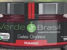 Foto do produto Geléia Orgânica de Morango 190g - Verde Brasil