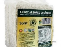 Foto do produto Arroz arbóreo orgânico 500g - Solst