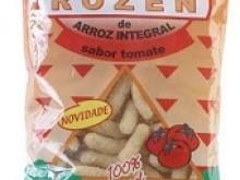 Foto do produto Salgadinho de Arroz integral Sabor tomate - 50 g - Okosshi