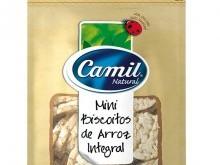 Foto do produto Mini biscoitos de Arroz Integral - Camil