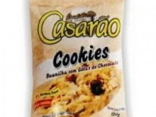 Foto do produto Cookies Baunilha com chocolate 120g - Casarão