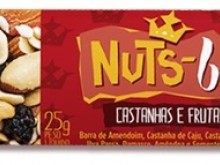 Foto do produto Barrinha Castanha e frutas 25 g - Nuts bar