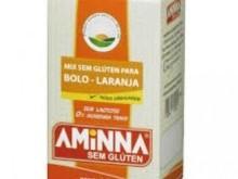 Foto do produto Mix sem Glúten para Bolo sabor Laranja 400g - Aminna