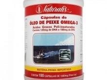 Foto do produto Óleo de Peixe Omega-3 100 cápsulas - Naturalis