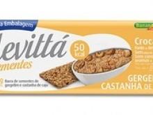Foto do produto Levittá Gergelim e Castanha de Caju 10g - Banana Brasil