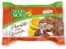 Foto do produto Cookie integral sabor chocolate com laranja 33 g - Good Soy