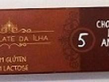 Foto do produto Chocolate Meio Amargo 50% 27g - Chocolate da Ilha