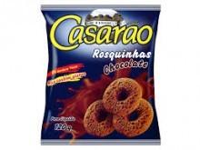 Foto do produto Rosquinhas sabor Chocolate 120g - Casarão