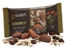 Foto do produto Barra Super Mix 35g - Hart's Natural