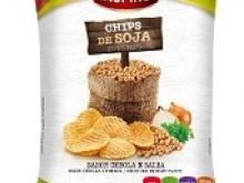 Foto do produto Chips de soja cebola e salsa 40g - Inspire