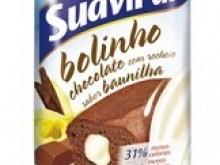 Foto do produto Bolinho Light Chocolate com baunilha 40g - Suavipan