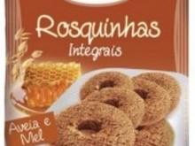 Foto do produto Rosquinhas Integrais aveia e mel - 200g - Jamine
