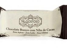 Foto do produto Chocolate branco com nibs de Cacau 14g - Tri-Gostoso