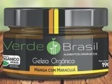 Foto do produto Geléia Orgânica de Manga com Maracujá 190g - Verde Brasil