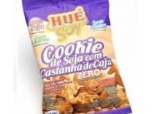 Foto do produto Cookie de soja com castanha de caju - 120g - Hué
