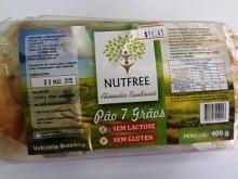 Foto do produto Pão 7 grãos sem glúten 400g - Nutfree