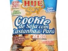 Foto do produto Cookie de soja com castanha do Pará - 120g - Hué