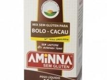 Foto do produto Mix sem Glúten para bolo sabor Cacau 400g - Aminna