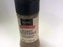 Foto do produto Tempero sem sal para vegetais 40g - Nomu