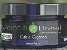Foto do produto Geléia Orgânica de Amora Preta 190g - Verde Brasil