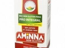 Foto do produto Mix para Pão Integral Sem Glúten 350g - Aminna